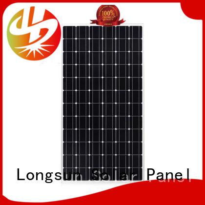Longsun waterproof sunpower solar panels producer for space