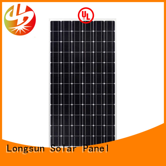 Longsun 250wp mono sunpower solar panels overseas market for space