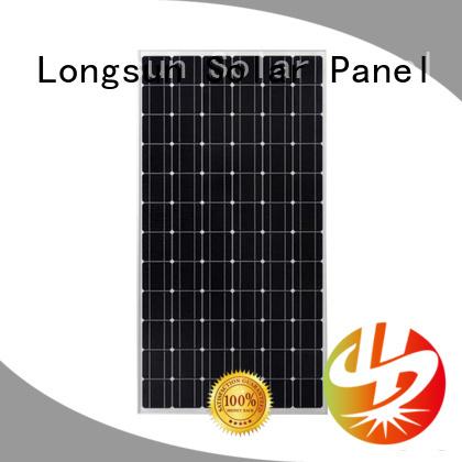 Longsun highout high tech solar panels supplier for communication field