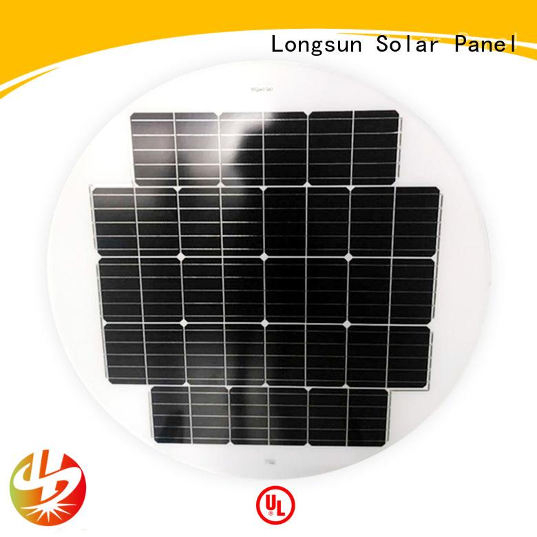 panel circle solar panel customized for Solar lights Longsun