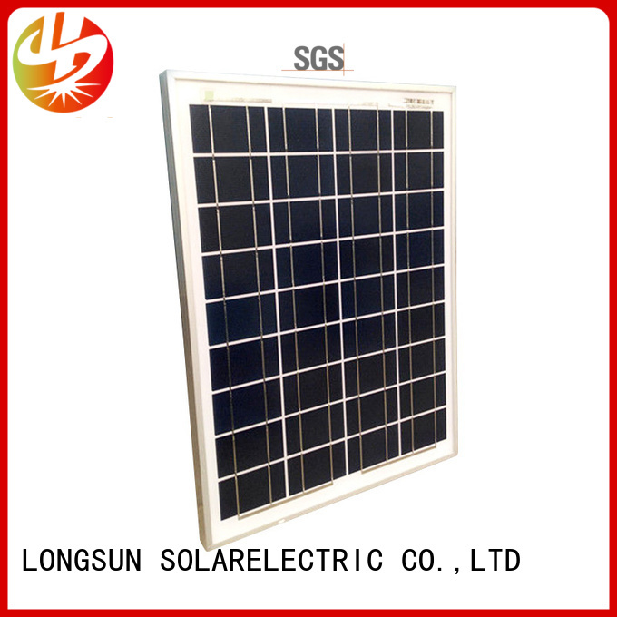 Longsun long-life solar panel manufacturers supplier for solar power generation systems