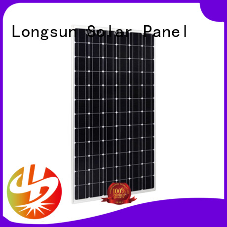 Longsun series most powerful solar panel customized for powerless area