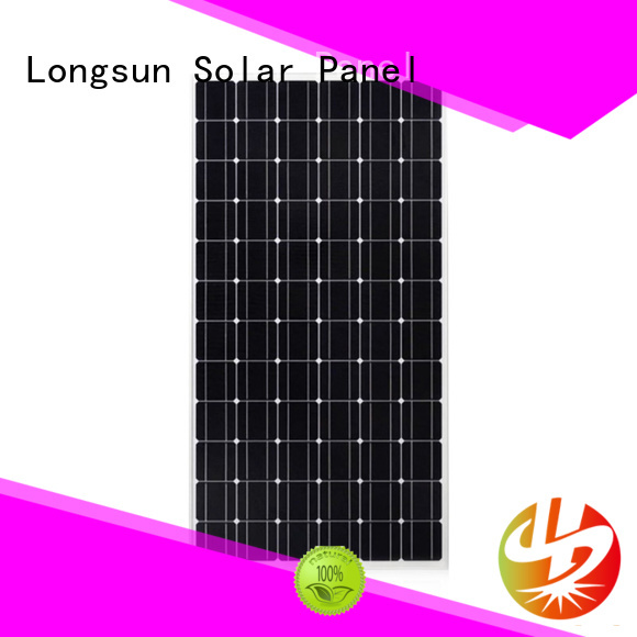 waterproof monocrystalline solar module 320w factory price for ground facilities