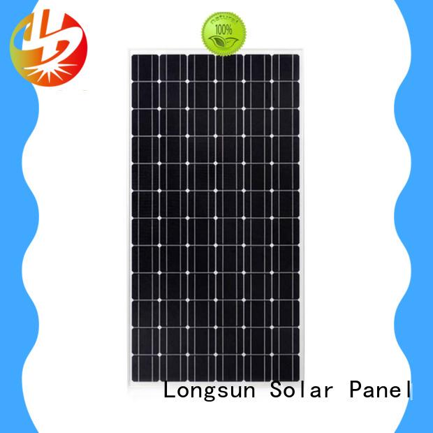 Longsun durable monocrystalline pv module wholesale for ground facilities