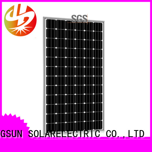 Longsun poly powerful solar panels customized for communication field