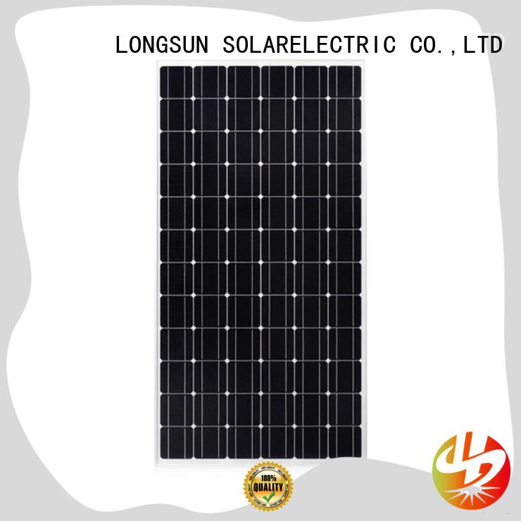 module monocrystalline solar panels for sale supplier for ground facilities Longsun