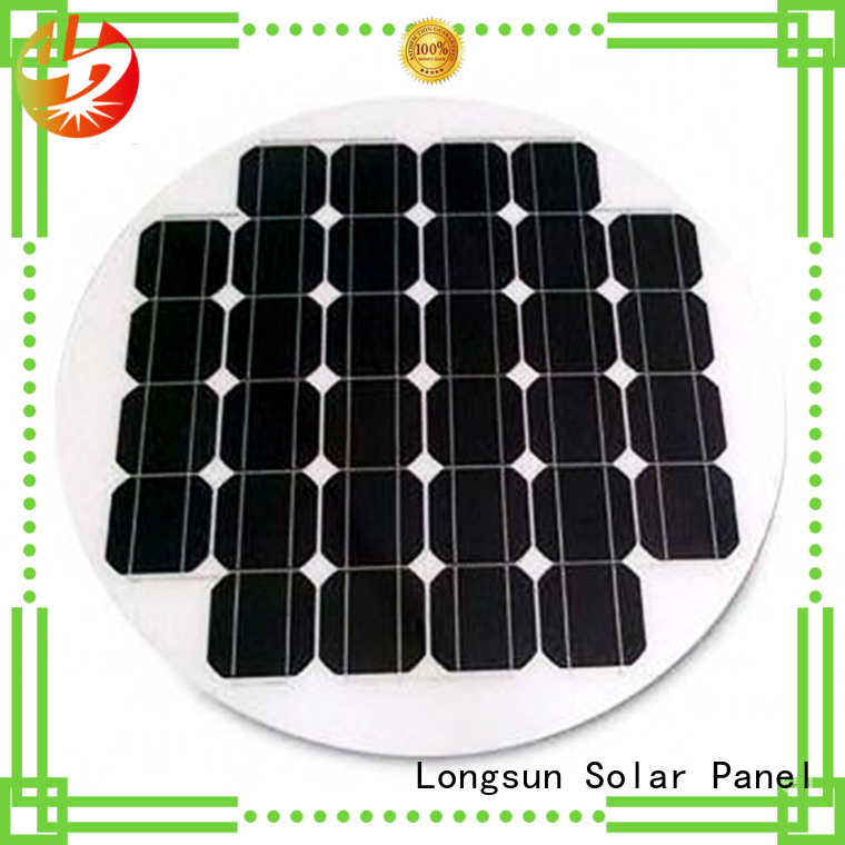 Longsun 60w solar power panels manufacturer for Solar lights