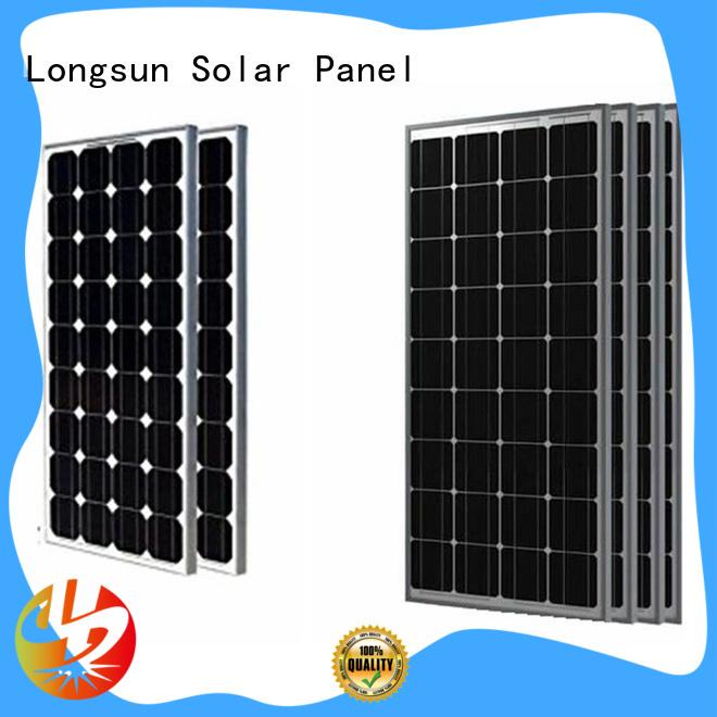 Longsun series high output solar panel manufacturer for marine
