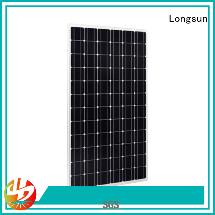 Longsun long-lasting high performance solar panels 340w for lamp power supply