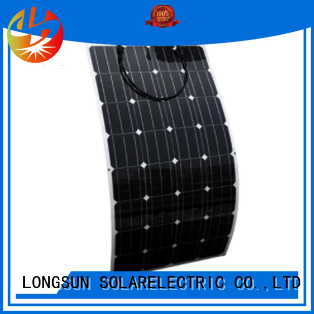 Longsun eco-friendly marine solar panels overseas market for boats