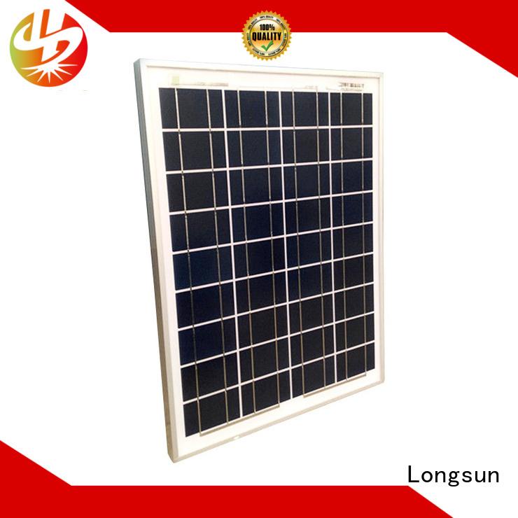 Longsun high-quality polycrystalline solar panel series for solar power generation systems