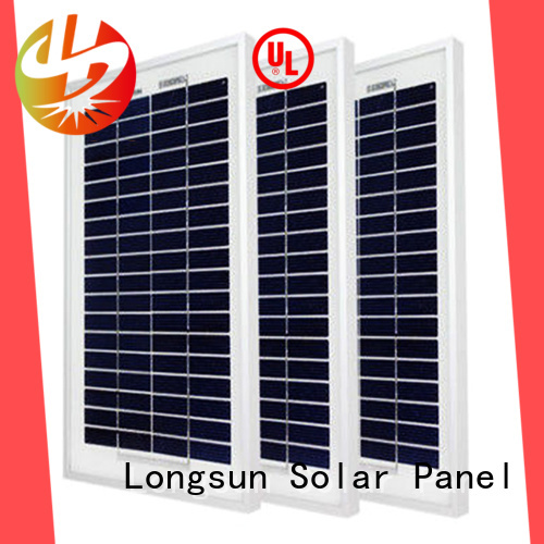 Longsun 20w poly solar panel order now for solar lawn lights