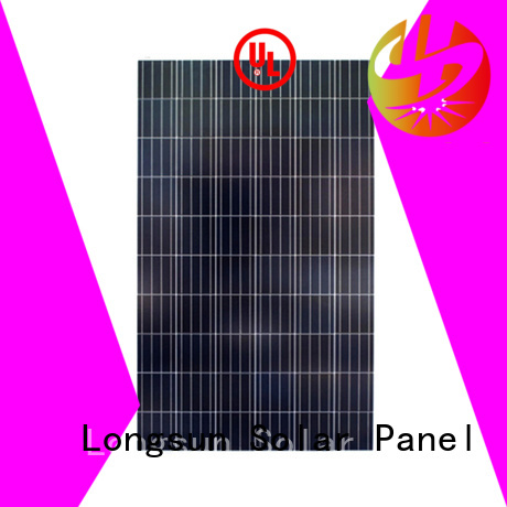 Longsun 100 poly solar panel series for solar lawn lights