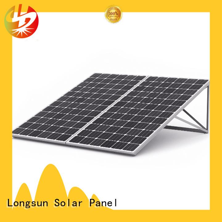 Longsun 350w high watt solar panel for meteorological