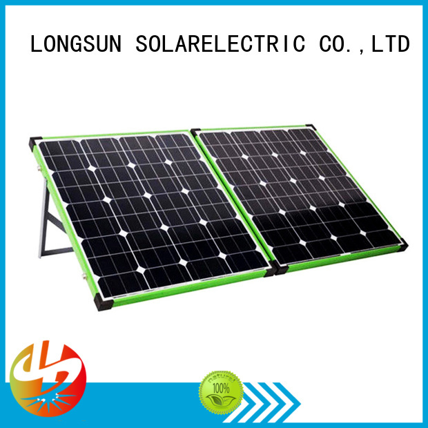Longsun experience foldable solar panel directly sale for recreational activitie