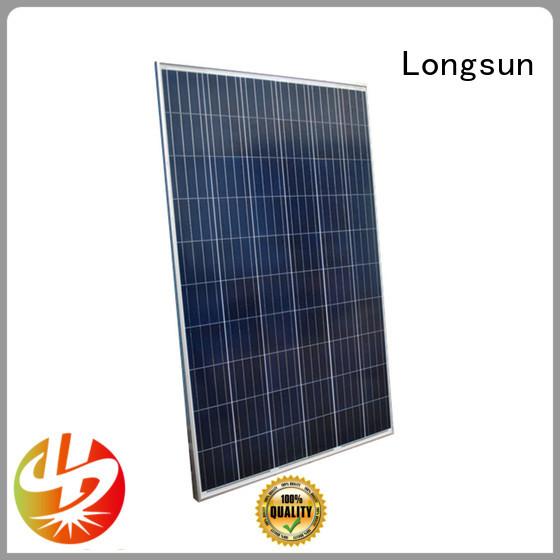 Longsun panel high output solar panel for powerless area