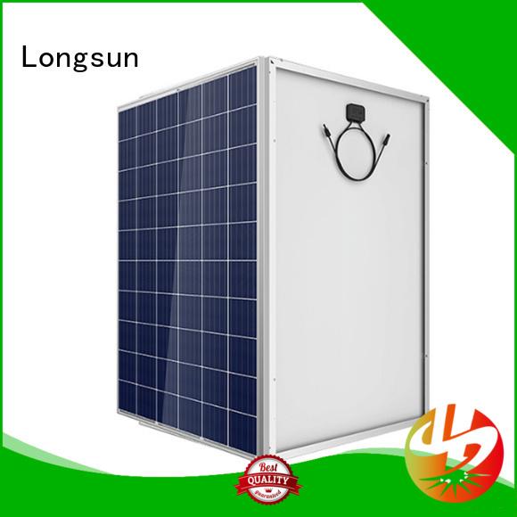 Longsun 280w sunpower solar panels marketing for powerless area