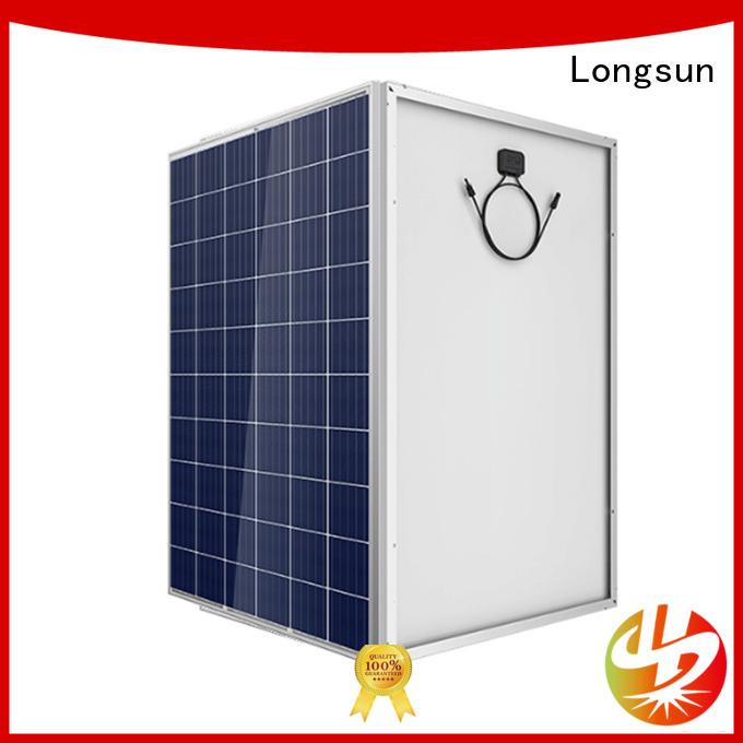 Longsun solar high capacity solar panels customized for marine
