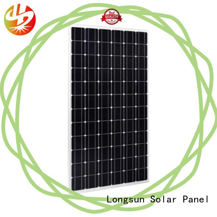 Longsun mono best solar panel company wholesale for traffic field