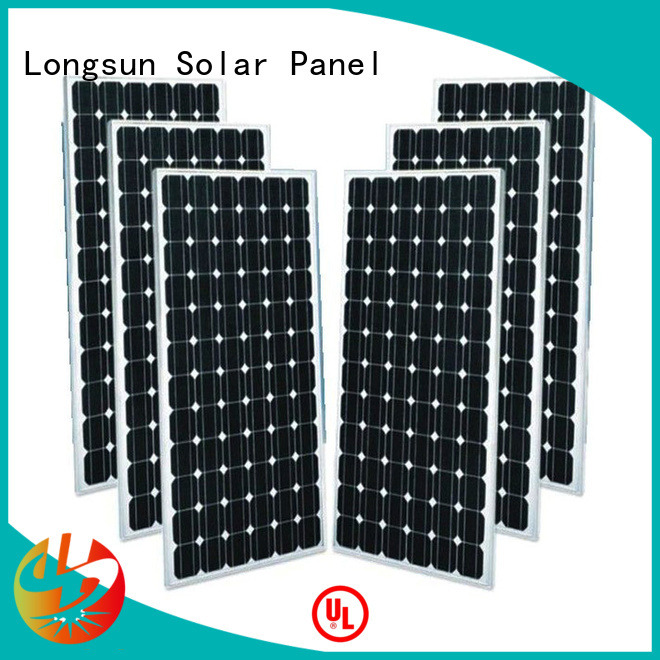 Longsun durable mono pv module producer for space