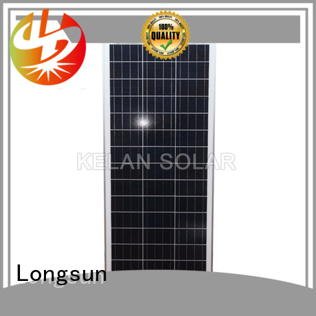 competitive price sunpower module 150w series for solar street lights
