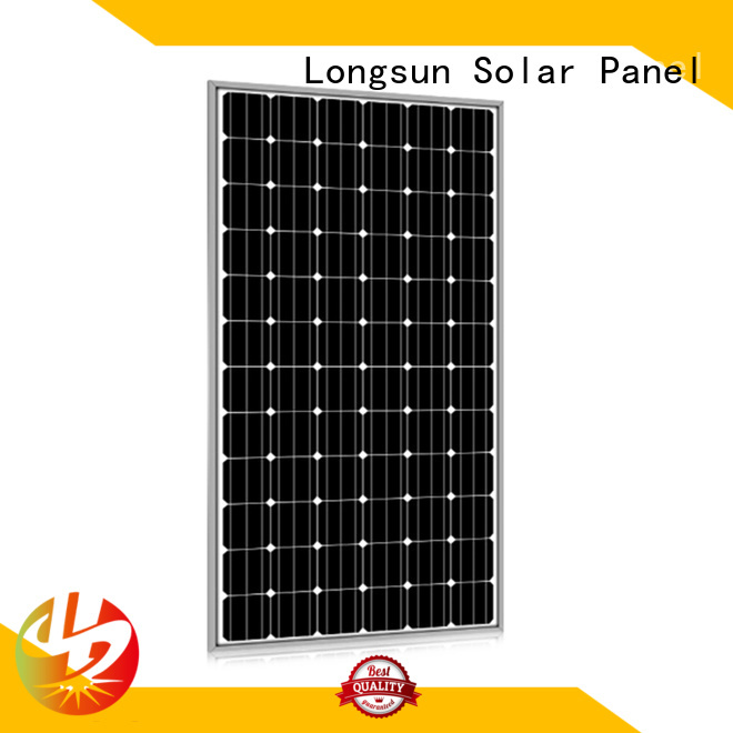 Longsun reliable highest watt solar panel vendor for lamp power supply