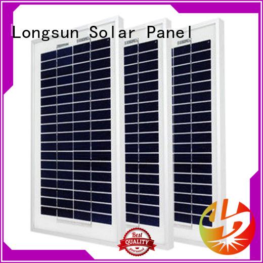 Longsun natural sunpower module owner for solar street lights