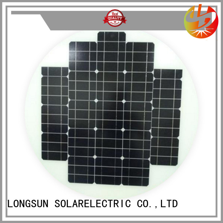 solid circle solar panel round factory price for other Solar applications