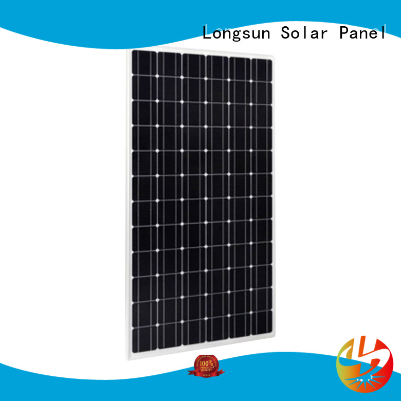 Longsun monocrystalline highest rated solar panels vendor for petroleum
