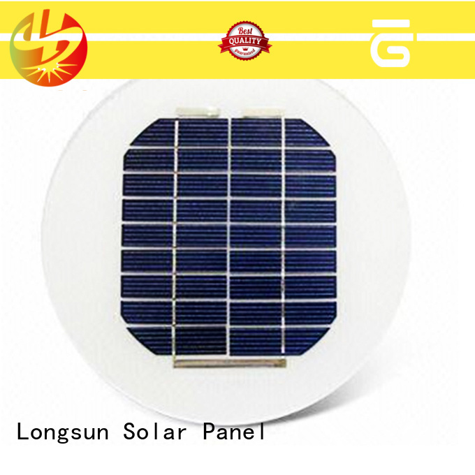 widely used circle solar panel 40w producer for Solar lights