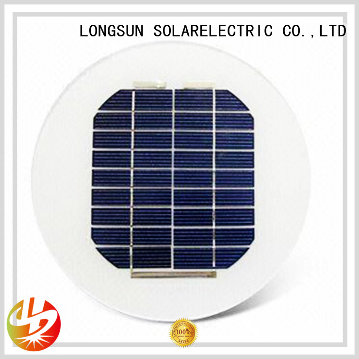 durable circle solar panel circle customized for Solar lights