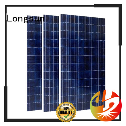 Longsun durable highest rated solar panels for petroleum