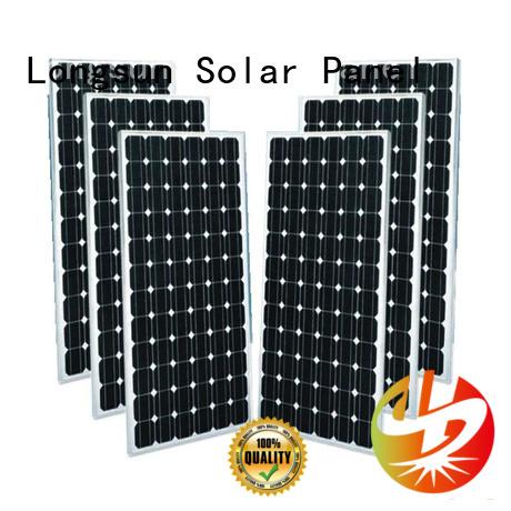 Longsun sturdy monocrystalline solar panel wholesale for space