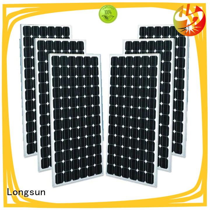 Longsun durable monocrystalline solar cell supplier for ground facilities