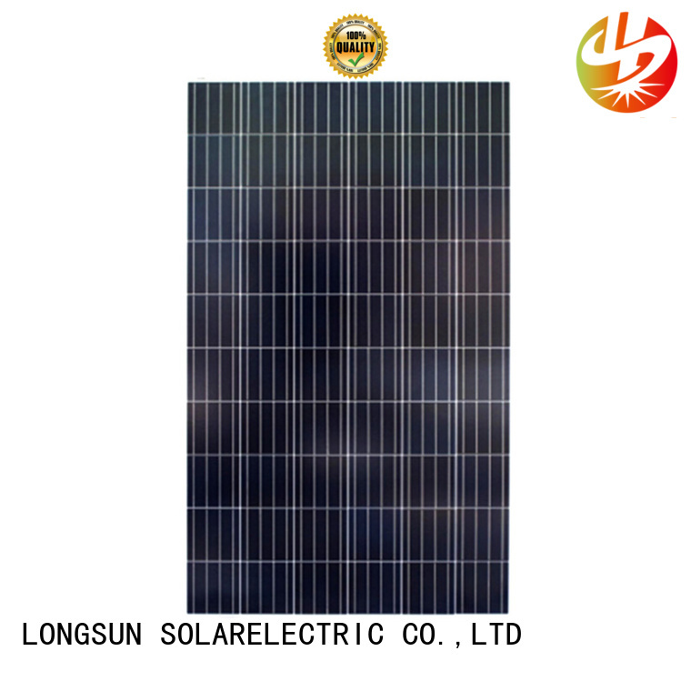 Longsun 305w solar cell panel supplier for solar power generation systems