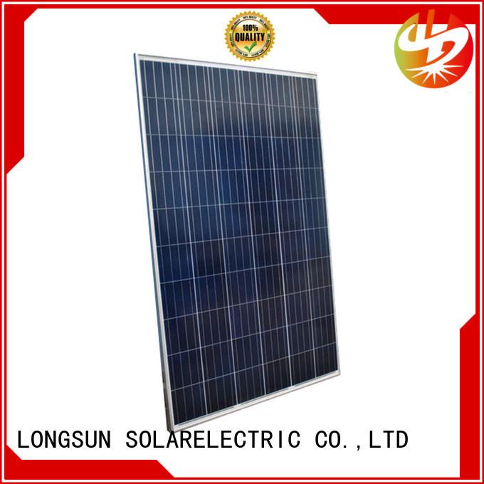 Longsun panels highest rated solar panels customized for traffic field