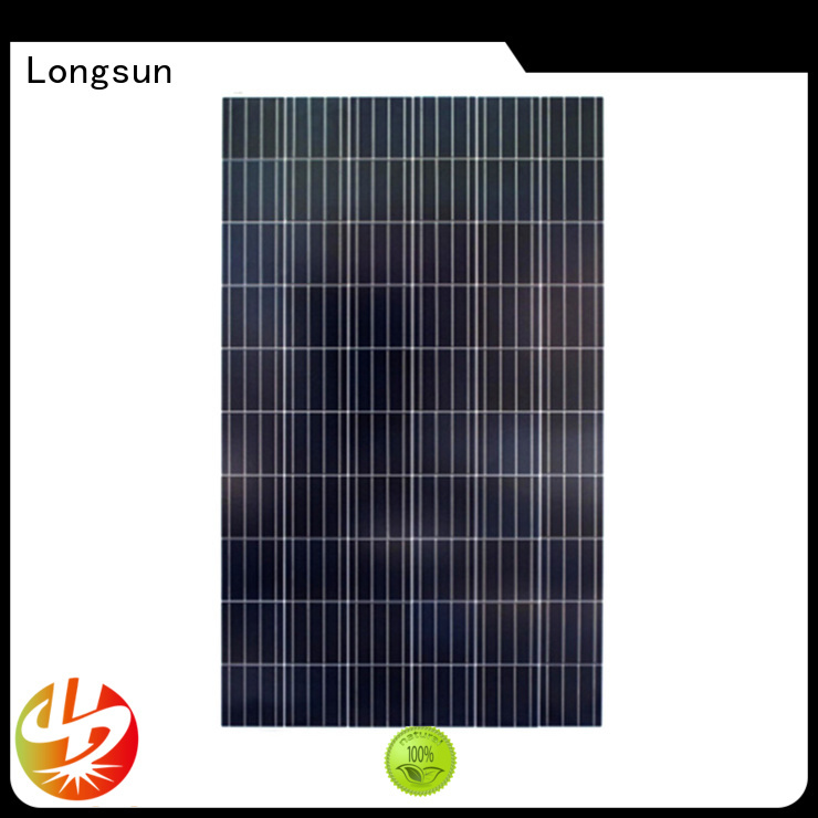 Longsun natural solar panel manufacturers supplier for solar lawn lights