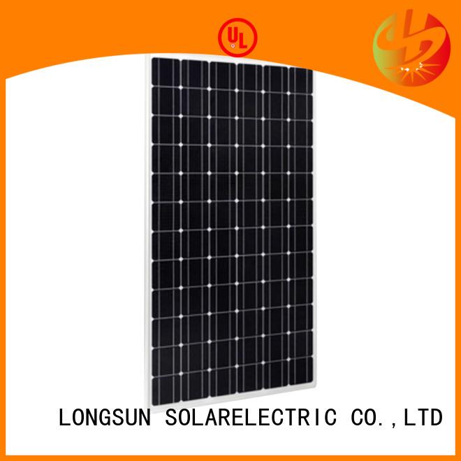 Longsun 280w high output solar panel overseas market for meteorological