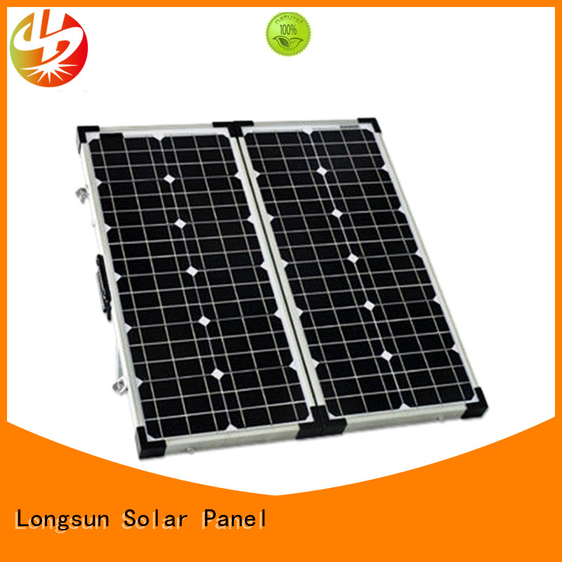 Longsun high-end folding solar panels dropshipping for caravaning