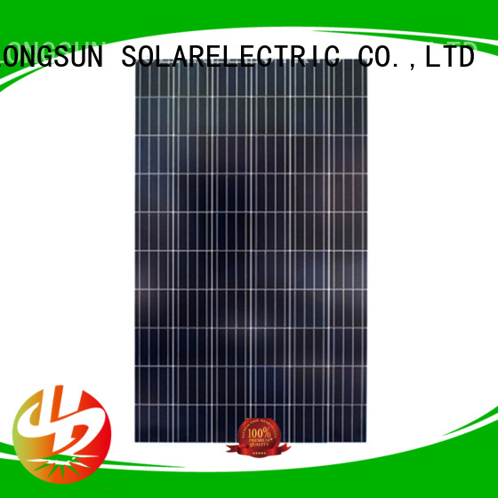 Longsun high-quality polycrystalline solar panel owner for solar power generation systems