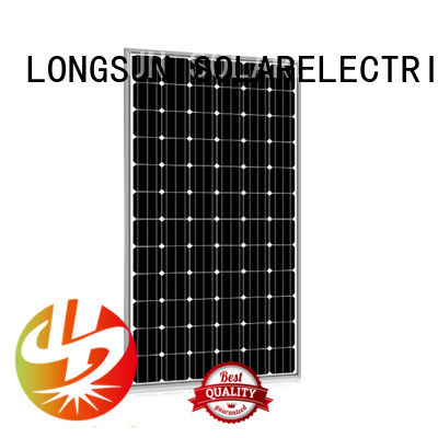 Longsun online high watt solar panel supplier for communication field