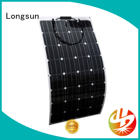 Longsun semi semi flexible solar panel dropshipping for roof of rv