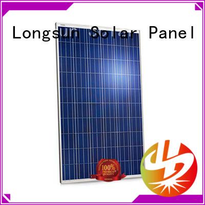 Longsun professional high quality solar panel vendor for petroleum