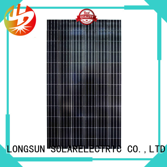 Longsun natural polycrystalline solar panel wholesale for solar power generation systems