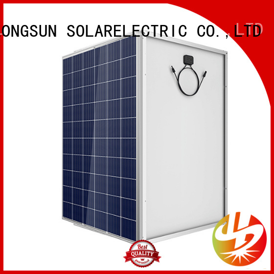 Longsun competitive price high output solar panel for communication field