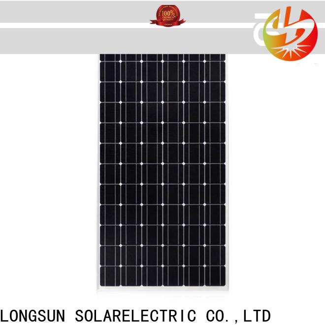 Longsun module mono solar panel overseas market for space