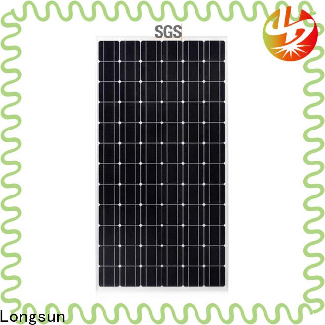 Longsun durable sunpower solar panels directly sale for ground facilities