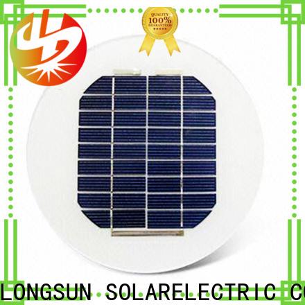 Longsun circle solar power panels factory price for other Solar applications
