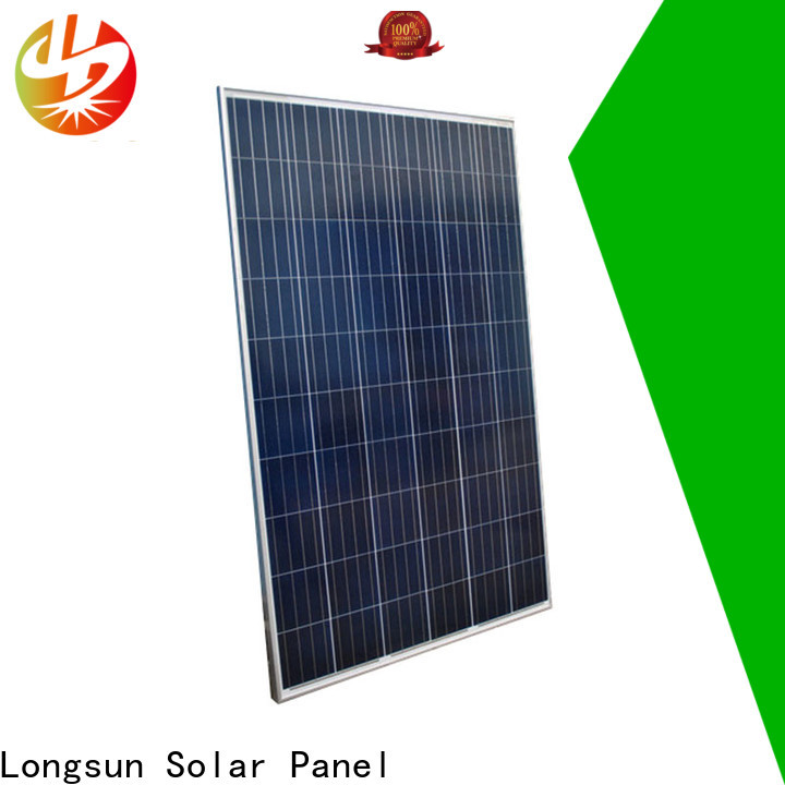 Longsun online powerful solar panels wholesale for photovoltaic power station