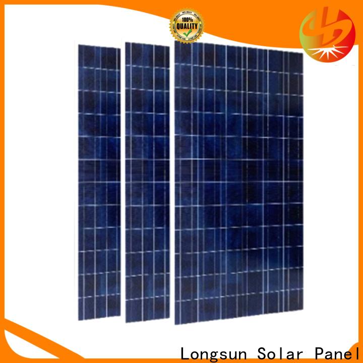 Longsun professional best solar panel company for traffic field
